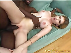 BLACK JESEP WHITE TEEN INTERRACIAL PLAYING WITH FANTASTIC COWGIRL