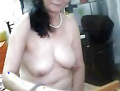 Chinese mature talking and pussylicking