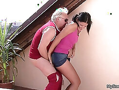 Cheating GF pounded by her friend