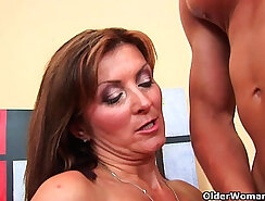 Best Facial Ever Satisfied And Disgraced From MILF