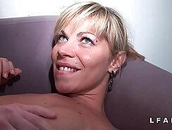 Canadian Amateur Bondage Casting on the Dick