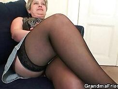 Cute Asian Granny Gives Cock A Damn Good Messy