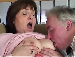 amateur granny doing awesome action