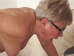 BBW Granny Sucks & Fucks Cocks