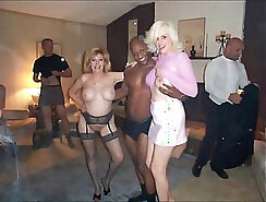 Amateur Gets Gangbanged By Horny Bosses