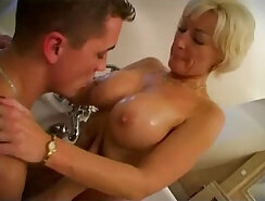 Blue Amber - Riding Truck Str/Gauge and Footsex Sex with Son