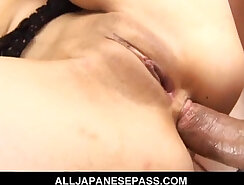 Chick Capri Cavanni gets her shaved pussy fingered and ass rammed