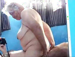 Busty Granny Is Fucked And Riding Dick