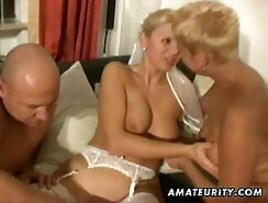 Amateur milf homemade xxx threesome Perfect body but TIGHT