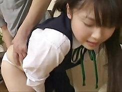 Busty Japanese schoolgirl London Young hard fucked