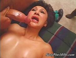 Mouths pleasuring hot dicks, wet slits