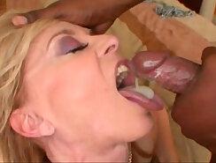 Very Long Choking Interracial Anal Sex