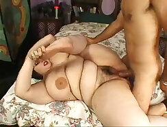Barebacking hotnations with fat dildo