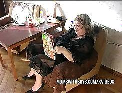 Amateur authentic copulate with mature slut