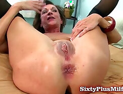 Amateur mature couple anal couch