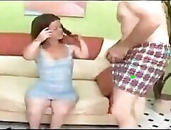 Bazoocan appetizing chubby babe gets sausage involved in steamy threesome