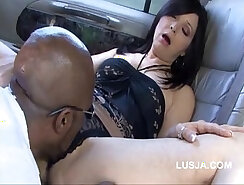 Blonde wife takes a long black dick