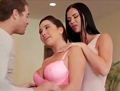 Stepdad fucks his stepdaughter and her bff - Watch More Vidz Like This At fuckpussy.vip