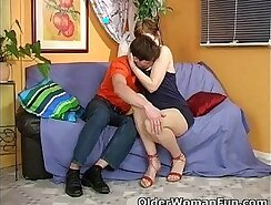 Chub Wife Takes A Messy Load Of Cum For Mother - HardLine