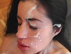 asian girl fucked & facial