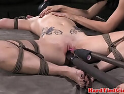 camgirl girl punishes her pussy with a dildo