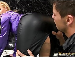 Bald dude gets fucked and jizzed