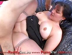 Chubby Amateur Slut Fake Tits Masturbation Sexy