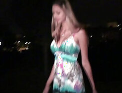 Adorable tall girl sex in public, hotel orgy