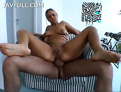 Blonde german girl got some tongue in anal