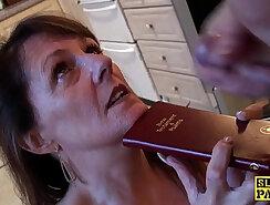 Cute Blonde Slut Gets Face Fucked