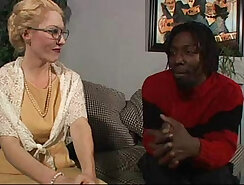 Hot white blonde mature Dalny takes Byrons bbc in her ass.