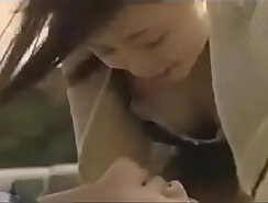 Amazing japanese lesbian playing