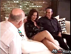 Married women show their lust for cock